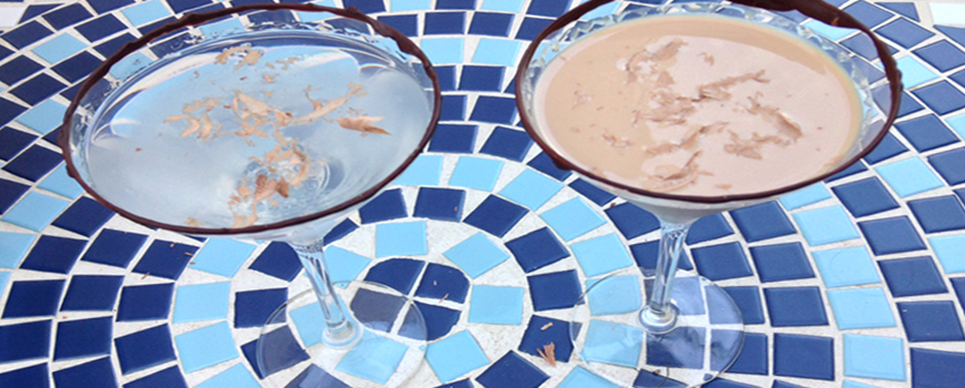 Chocolate Orange Martini and Chocolatini